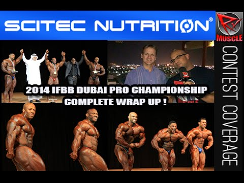 2014 IFBB Dubai Pro Championships Final WrapUp With Chris Aceto & Johnny Styles!