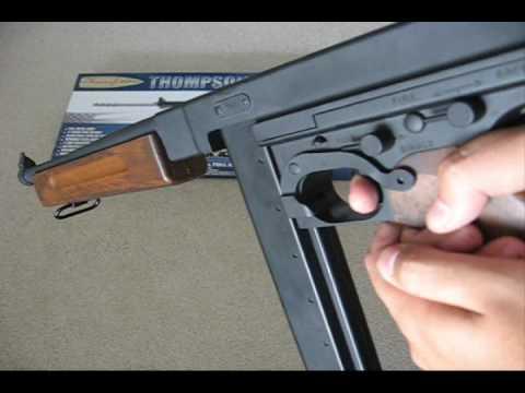 Cybergun Thompson M1a1 8 4v Airsoft Cybergun Thompson M1a1
