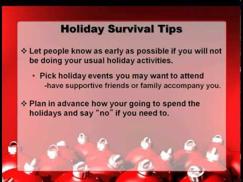 The holiday season is a difficult time of year for anyone grieving the loss ...