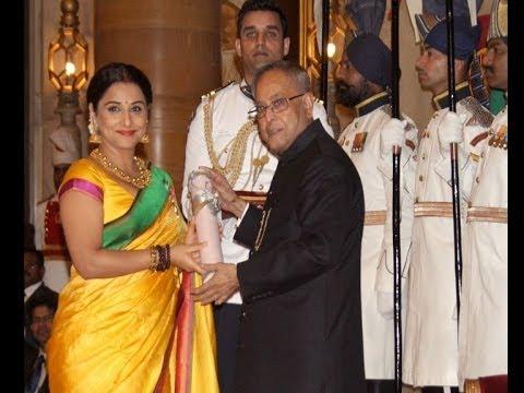 Vidya Balan, Kamal Haasan receive Padma Awards - Bollywood Country Videos