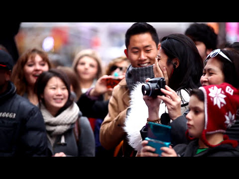Times Square NYC Flash Mob Proposal!!!