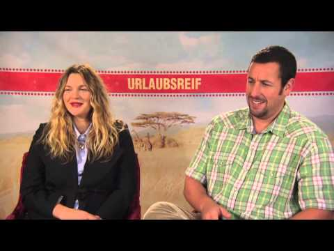 Adam Sandler & Drew Barrymore about first dates -  BLENDED  movie