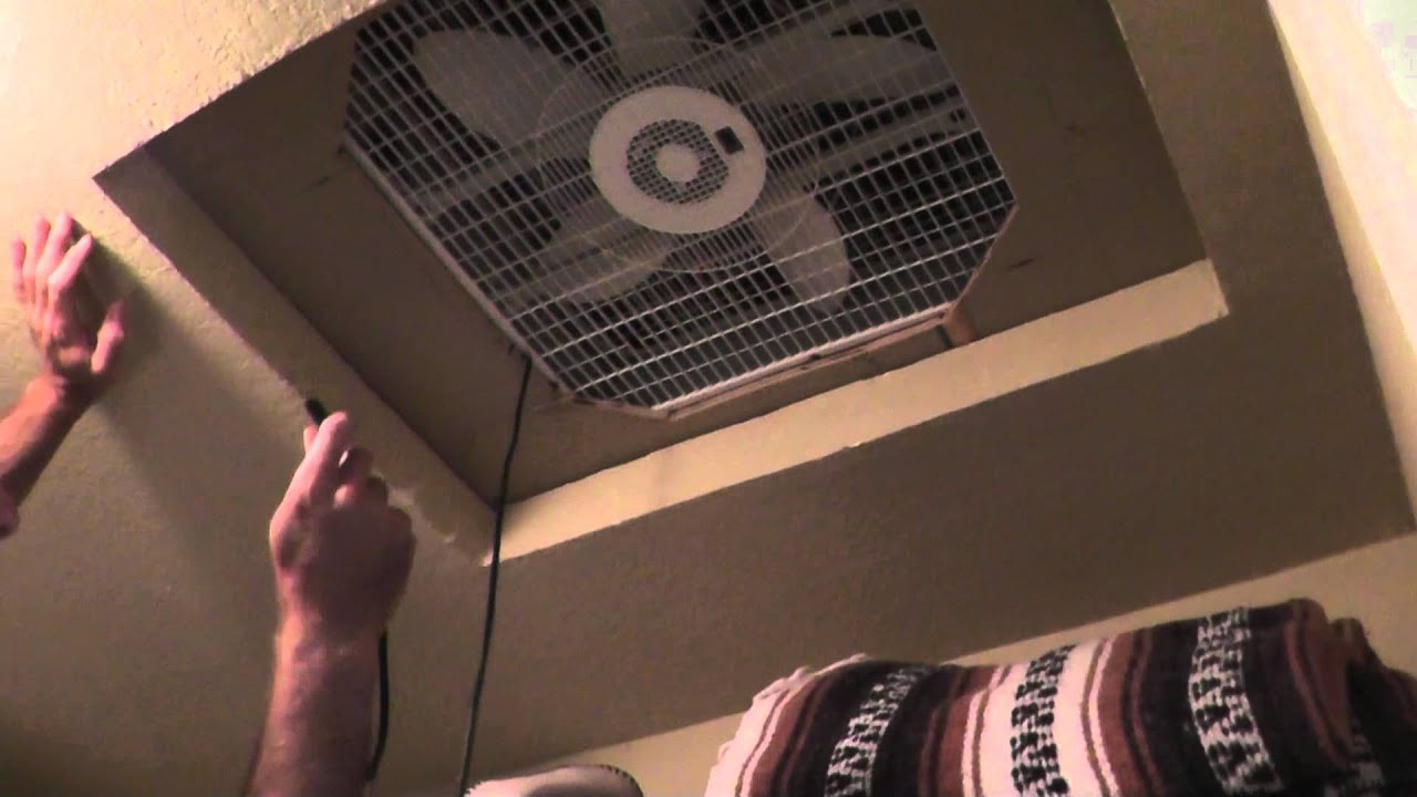 Cheap Homemade Whole House Fan How To Cool Without A C