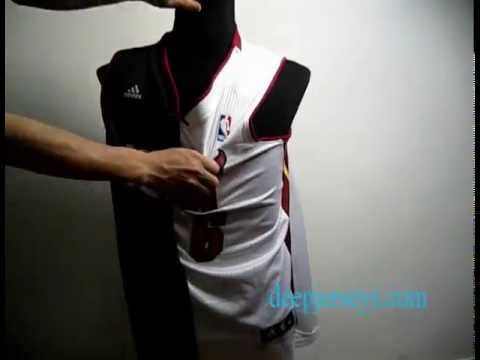 2013 Hot Sale NBA Miami Heat #6 LeBron James black-white Split jerseys
