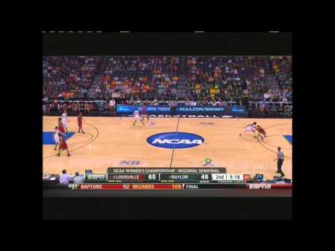 Louisville Vs Baylor - Full Game - Schimmel - Griner - Off The Rez - Basketball - ESPN - RezBall