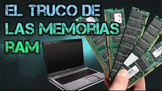 🔴Mi laptop no da Video | EL TRUCO DE LAS MEMORIAS
