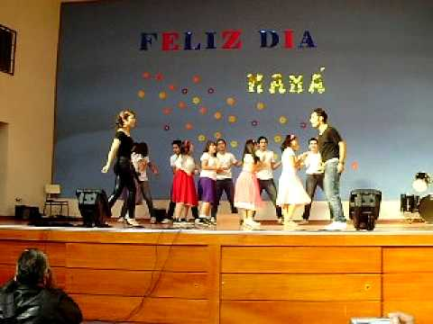grease brillantina You are the one that I want (Style Colegio El Refugio)