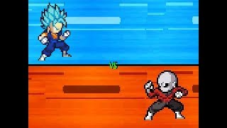 vegito vs jiren sprite animation