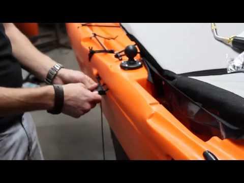 Installing a Full Rudder system on a Jackson Kayak Cuda