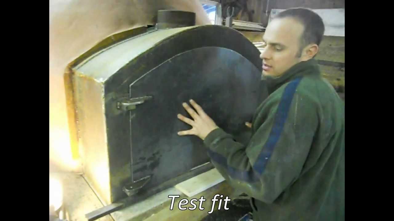 Custom Steel Door For Brick Oven Youtube