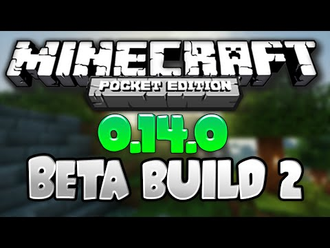 MCPE 0.14.0 ALPHA BUILD 2 - GAMEPLAY & REVIEW! - Minecraft PE | Minecraft Pocket Edition Beta