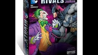 DC Deckbuilder Rivals - Batman vs. Joker: Roll & Move Reviews Expansion Saturday