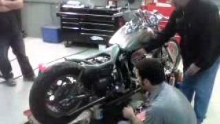 The Devil's Double - Harley Davidson and The Marlboro Man ORIGINAL MOVIE FXR