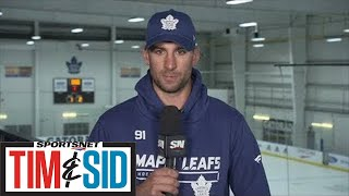 John Tavares Talks Expectations, Mitch Marner & What Makes A Good Captain | Tim and Sid