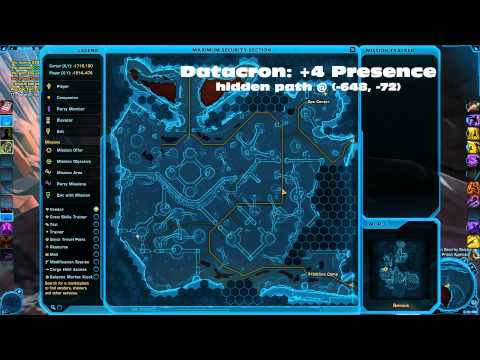 SWTOR Datacron Locations Belsavis Republic
