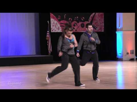 Ben Morris and Jennifer Deluca Swingdiego 2013 Classic Division Finals