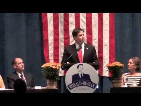 Marco Rubio's Highly Praised Iowa speech