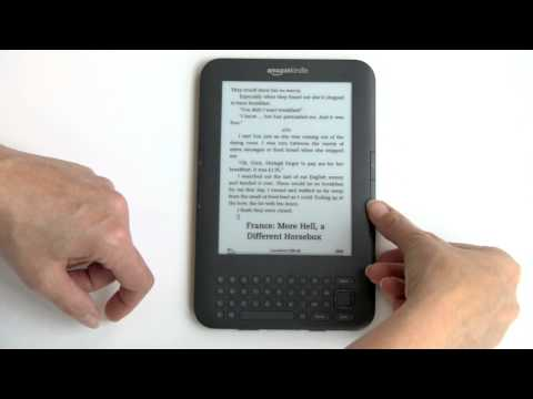 Amazon Kindle 3 Video Review