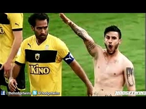 Greek Football Player (Soccer) Player Banned for Nazi Salute Reaction