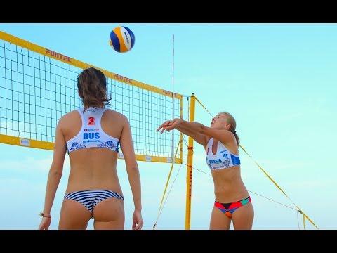О пляжном волейболе за 1 минуту.