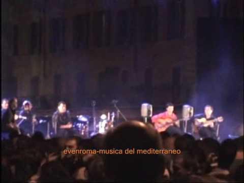 Niño de Pura y Manolo Franco en Vivo Roma Festival