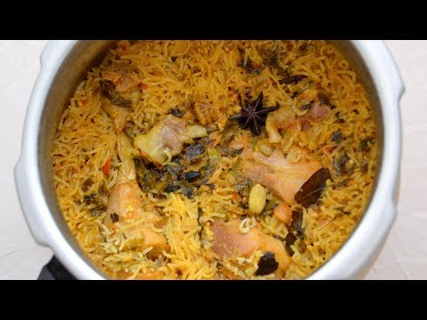 Chicken Briyani in Pressure Cooker | சிக்கன் பிரியாணி | Chicken Briyani Recipe | Tamil Food Corner