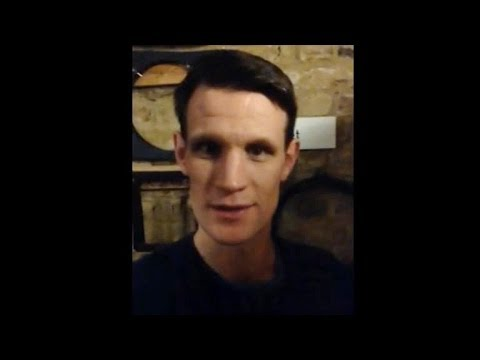 A Message from Matt Smith: The National Television Awards 2014
