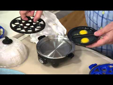 Eggspress Egg Cooker & Poacher w/Bell by MarkCharles Misilli with Courtney Cason