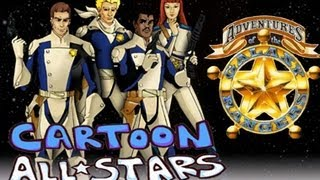 Cartoon All Stars - Adventures of the Galaxy Rangers