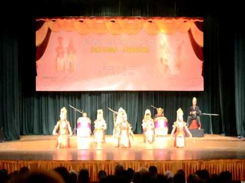 Ayodya Pala Tari Gending Sriwijaya   Joint Culture Indonesia Myanmar 2012 video