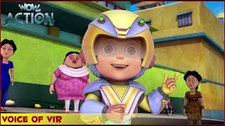 Vir : The Robot Boy | Voice Of Vir | 3D Action shows for kids | WowKidz Action