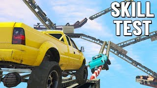 BERGSTEIGER SKY PARCOUR 😱 Sandking Skill Test in GTA 5 Online