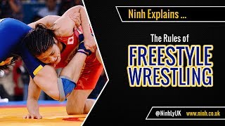 The Rules of Freestyle Wrestling - EXPLAINED!