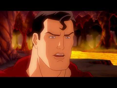 Супермен разгадывает загадку Ультра Сфинкса