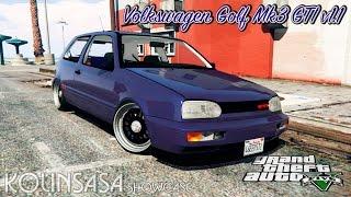 GTA 5 Volkswagen Golf Mk3 GTI v1.1