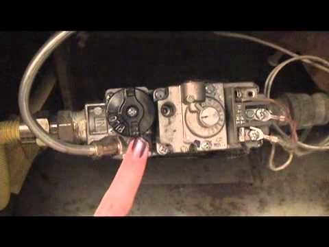 How To Light Your Pilot Light Easy Amp Quick Youtube