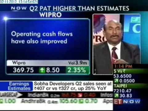 ET Now - Wipro Q2 above estimates