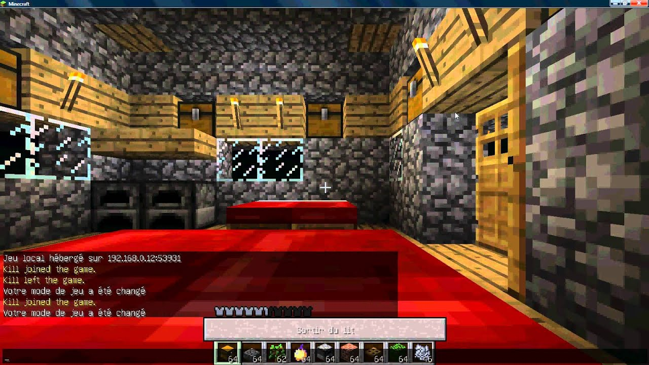 Tuto comment faire une belle maison dans minecraft youtube - Comment faire une belle maison ...