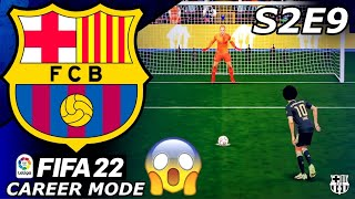 THIS COULD DECIDE OUR SEASON!💔- FIFA 22 Barcelona Career Mode S2E9