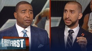 Cris Carter and Nick Wright on report Kawhi Leonard is Toronto bound | NBA | FIRST THINGS FIRST