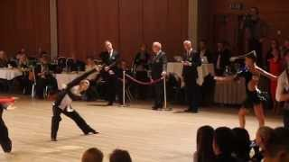 Norway Christmas Dance Festival - Rumba / SemiFinal Junior 2 Latin 2014