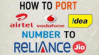 Port Any Number To Reliance Jio 4G Sim Network & Get Unlimited Data,Calls & Sms(MNP PROCESS)