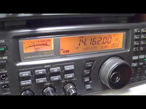 OE9MON Austria chat with KV4CQ USA amateur radio