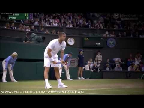 Roger Federer Vs Daniel Evans ♦ WIMBLEDON 2016 ♦ 3R Highlights ᴴᴰ
