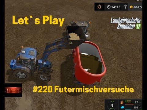 LS17 Winterberg Tiere und mehr Let`s Play #220 Futtermischversuche