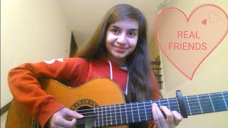 Download Lagu Camila Cabello - Real Friends | COVER by Talia Gratis STAFABAND