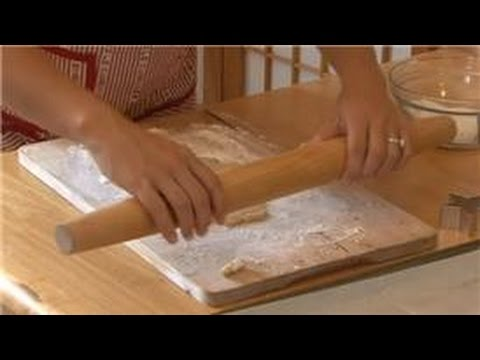 Healthy Cookies : How to Roll Sugar Cookies in Powdered Sugar