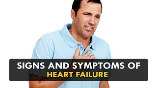 Signs and Symptoms of Heart Failure - Health Sutra
