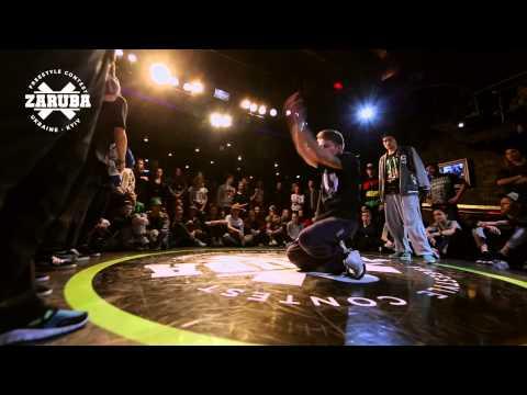 Hip-hop 3vs3 1/4F Bang gang crew vs One Starry Tribe@ZARUBA II Episode