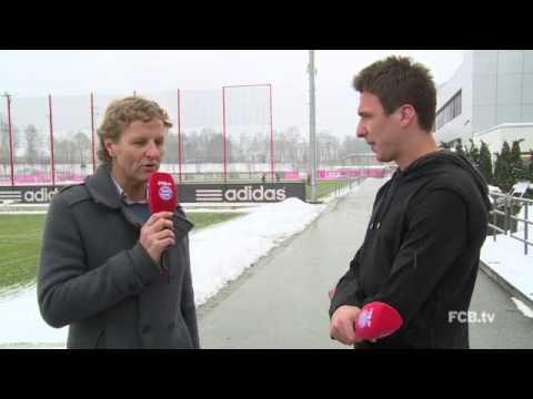Die FCB News am 25.01.2013 mit Mario Mandzukic